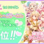 【ガルパ】Pastel*Palettes 5人分の「練習着」ライブ衣装配布キタ━━━(゚∀゚)━━━ッ!!