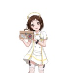 【ガルパ】彩ちゃん、つぐみの身体を乗っ取る!丸山ナース服キタ━━━(゚∀゚)━━━ッ!!(※コラ画像)