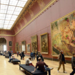 【ガルパ】ルーブル美術館見直しました(※コラ画像)