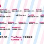 【速報】アニメ「BanG Dream! 3rd Season」放送情報が公開!毎週木曜日 22:30~