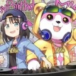 【ガルパ】美咲の誕生日記念イラストキタ━━(゚∀゚)━━ッ!! 右の熊の中には誰が入ってるんだ…?(※画像)